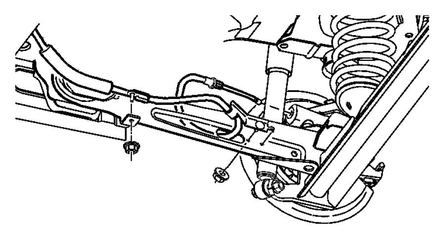 2006 Chrysler PT Cruiser Lever. Parking brake. Trim: [all