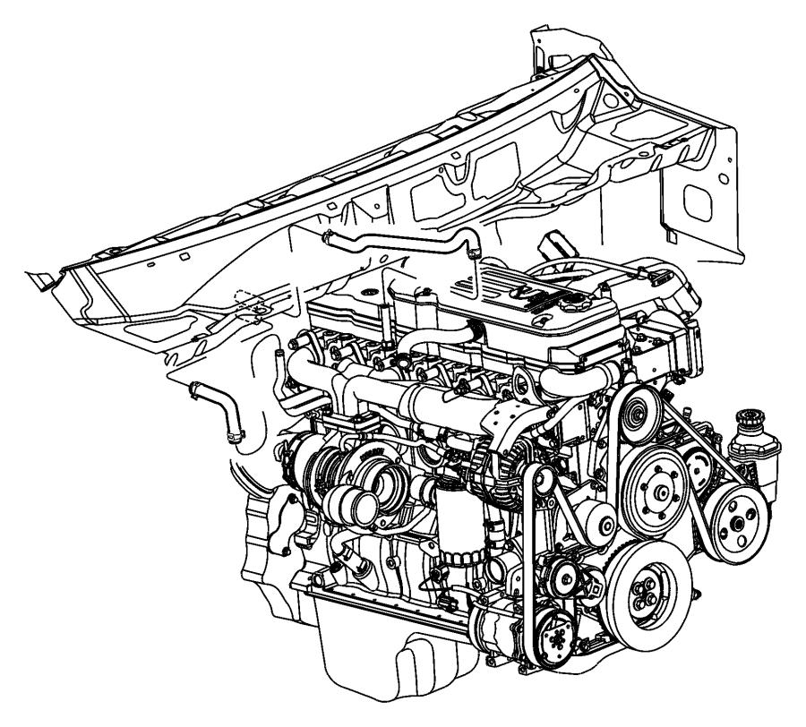 2010 Dodge Ram 4500 Hose. Heater, heater supply. Plumbing
