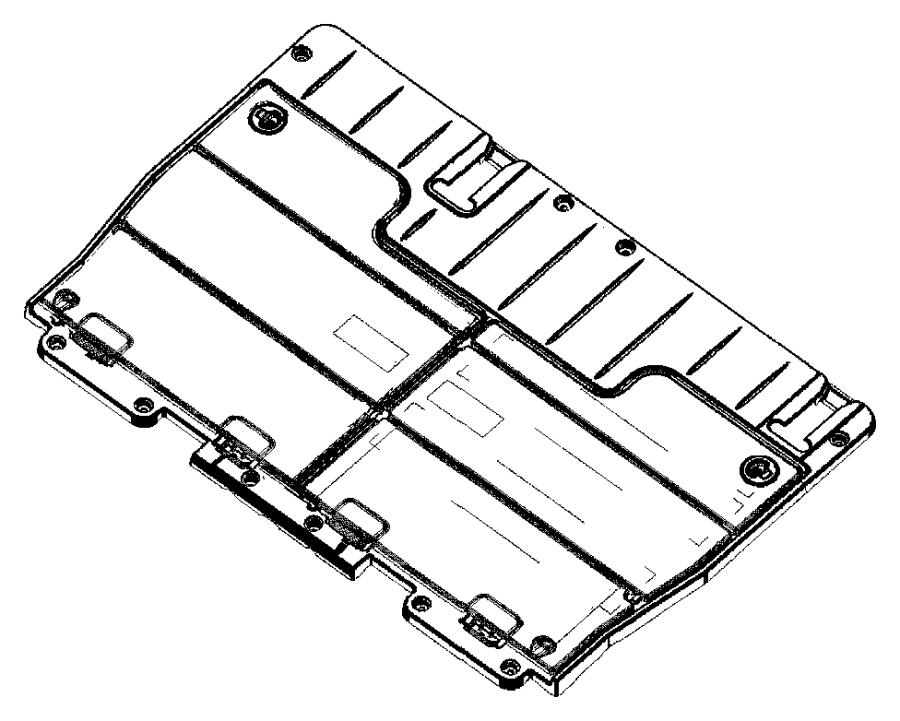 Dodge Caravan Door. Load floor. [j1]. Trim: [all trim