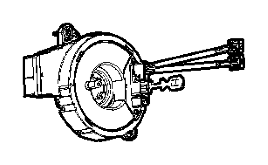 2008 Chrysler Aspen Clockspring. Stability, electronic