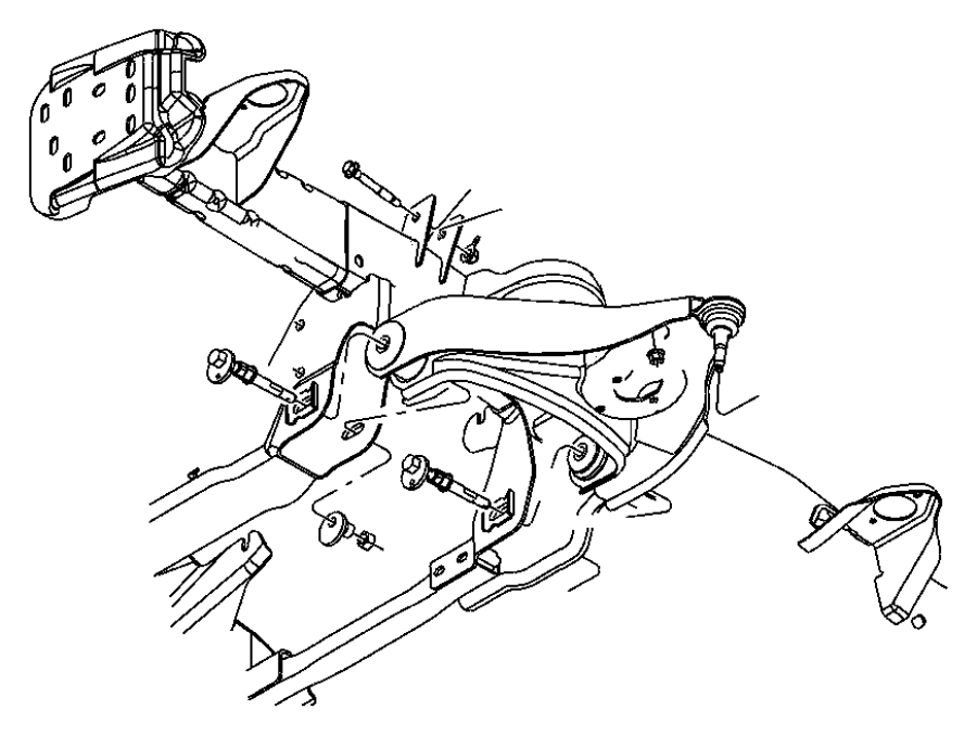 Dodge Viper Bolt. Hex flange head. M14x2.00x90.00