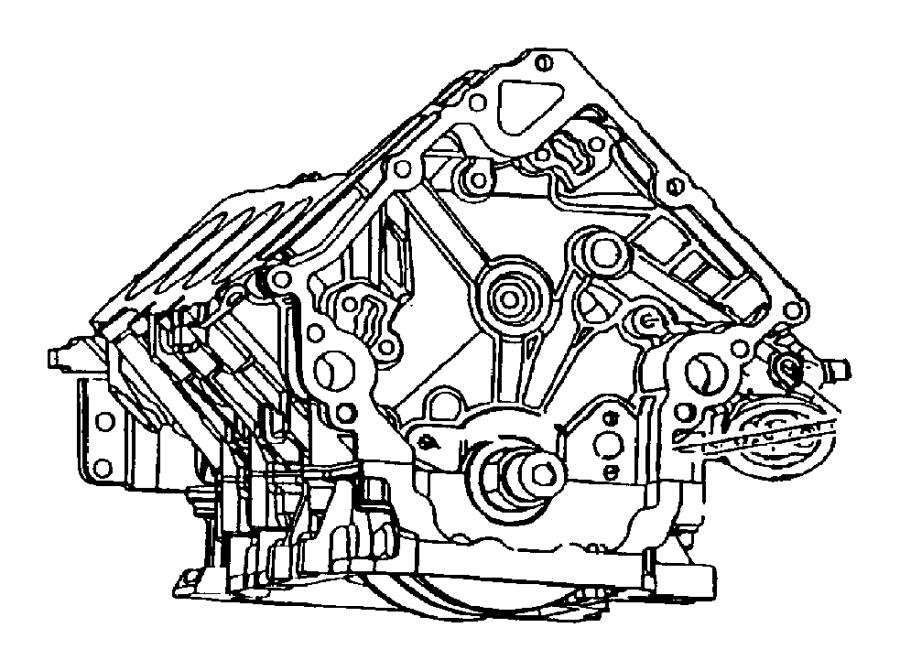 2015 Ram 2500 Seal. Inner, large, oil filter adapter