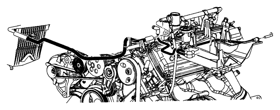 2006 Jeep Grand Cherokee Solenoid. Proportional purge