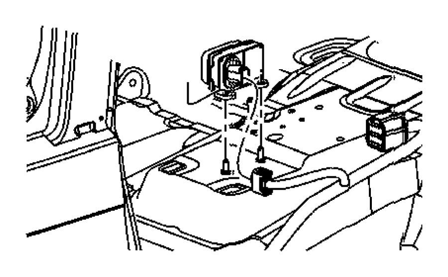 Dodge Charger Module, sensor. Dynamics, electronic
