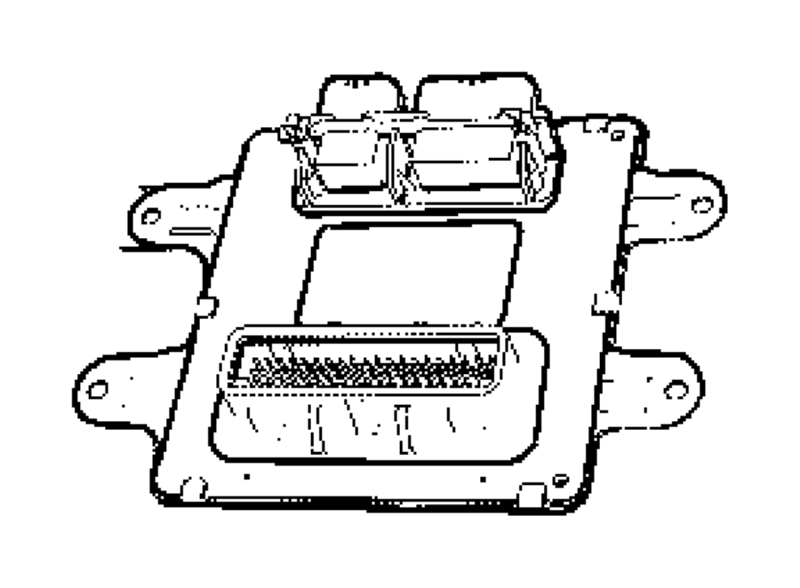 Chrysler Aspen Module. Front control. Modules, mopar