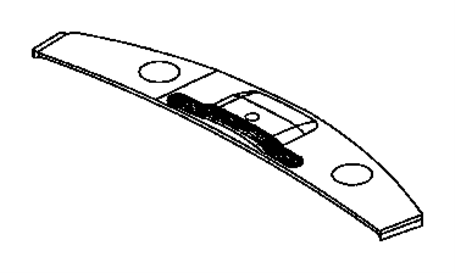Chrysler Aspen Grille. Defroster. [j1], [j3]. Trim: [all