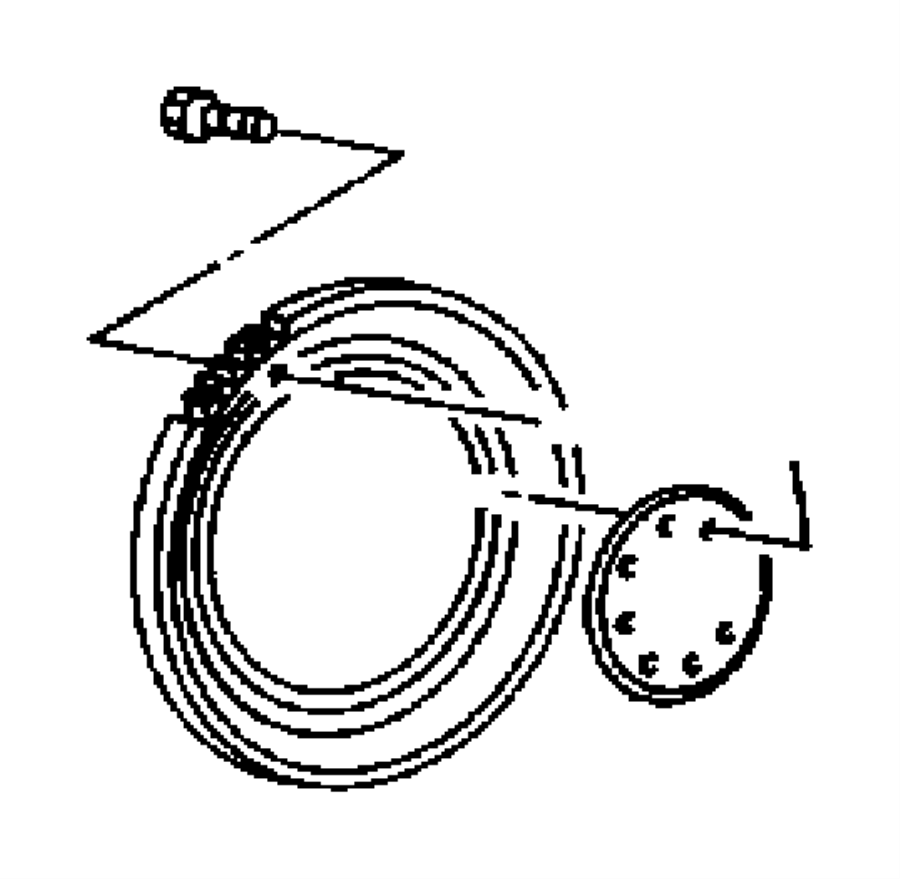 2010 Jeep Wrangler Flywheel. Engine. Manual transmission