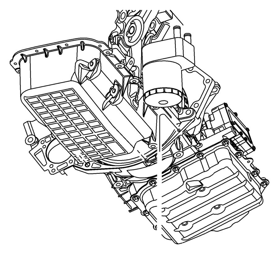 2007 Chrysler Pacifica Trans pkg. With torque converter