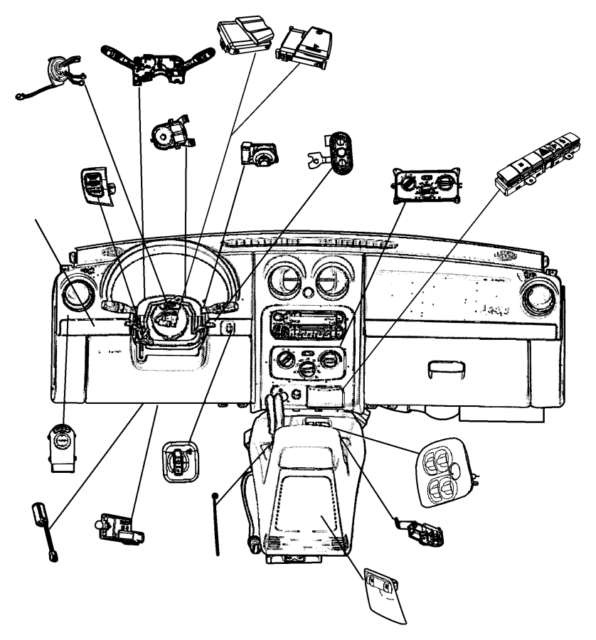 Harness Diagram 2007 Dodge Nitro