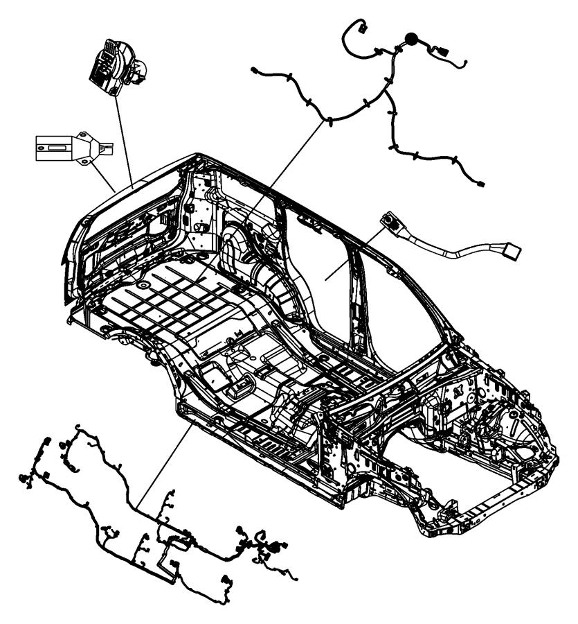 2009 Jeep Liberty Wiring. Sunroof. [power sunroof]. Trim