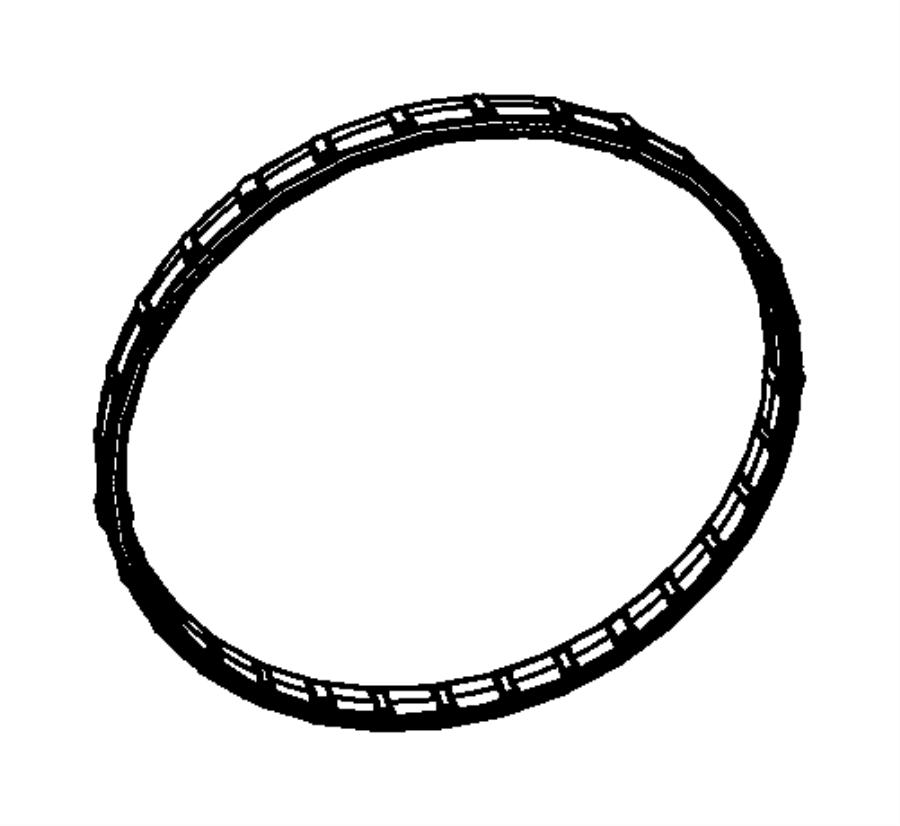 Dodge NITRO O ring. Electronic throttle control, throttle