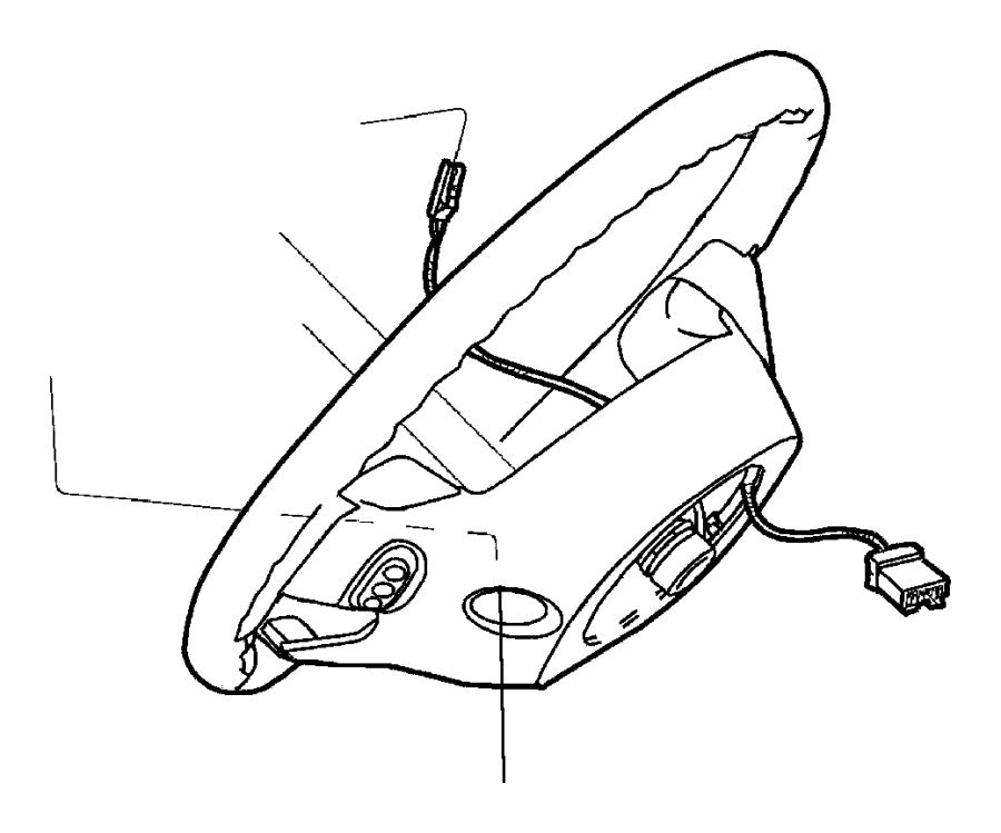 2009 Jeep Liberty Wiring. Steering wheel. [nhm], [[luxury