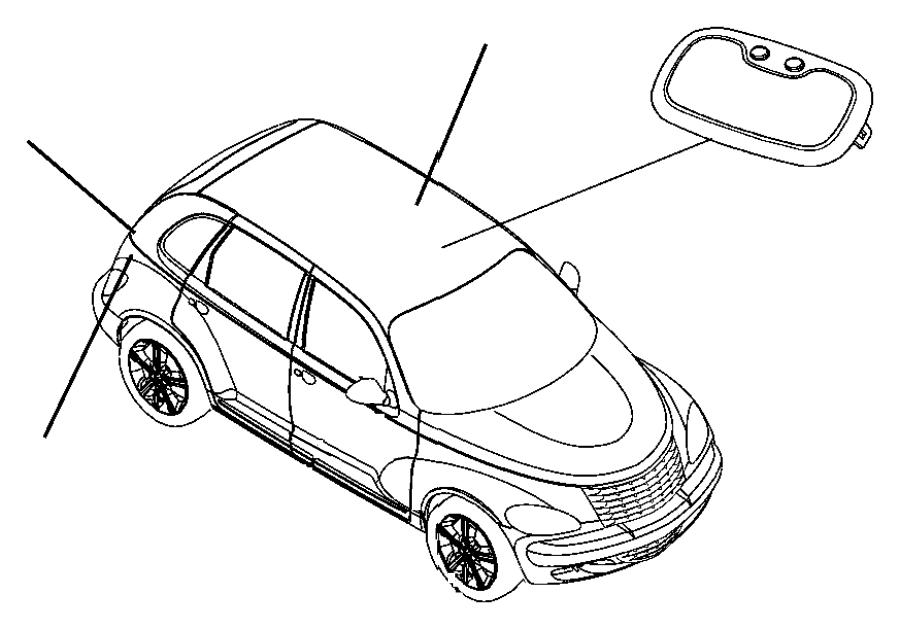 Chrysler PT Cruiser Lamp. Reading. Trim: [all trim codes