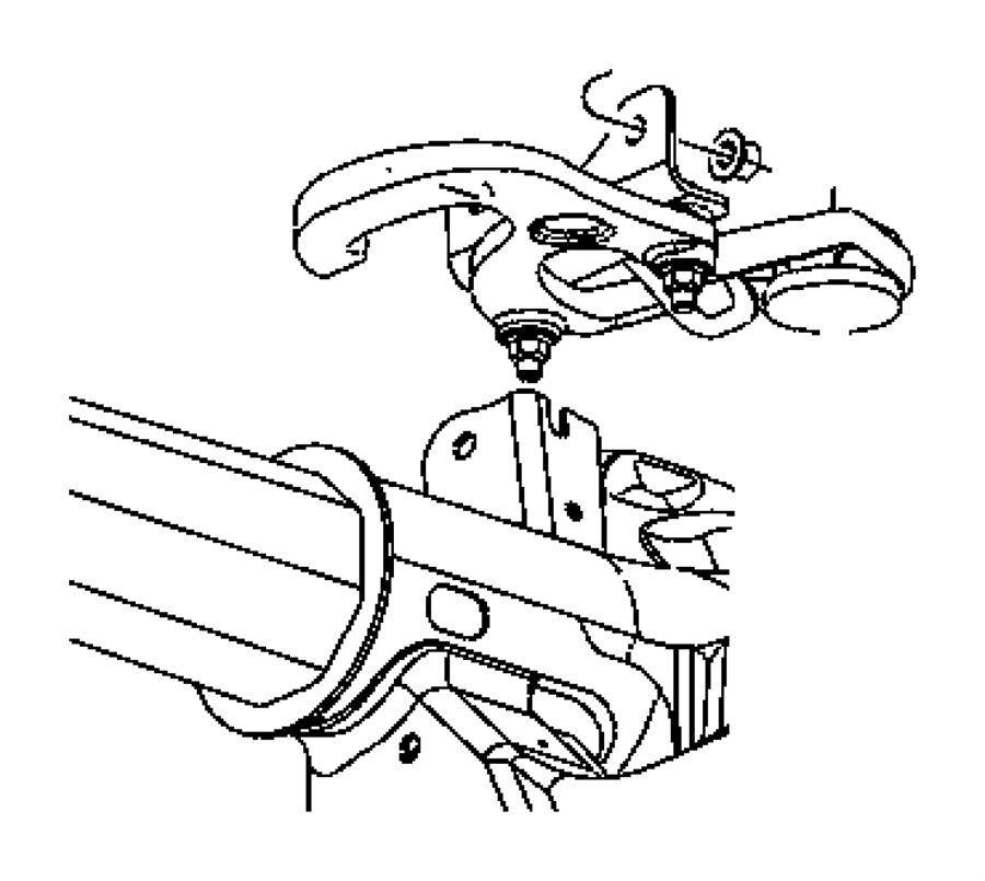 Dodge Dakota Hook. Tow. Right, right hand. Hooks, front