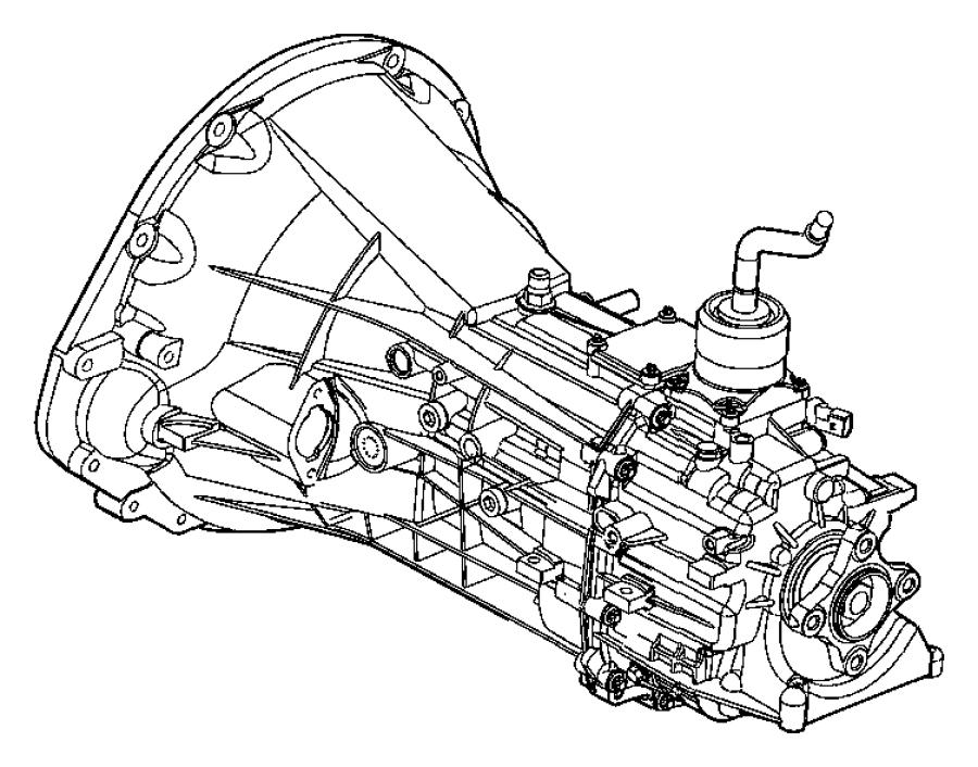 2006 Dodge Dakota Trans. 6 speed. 2wd. Transmission