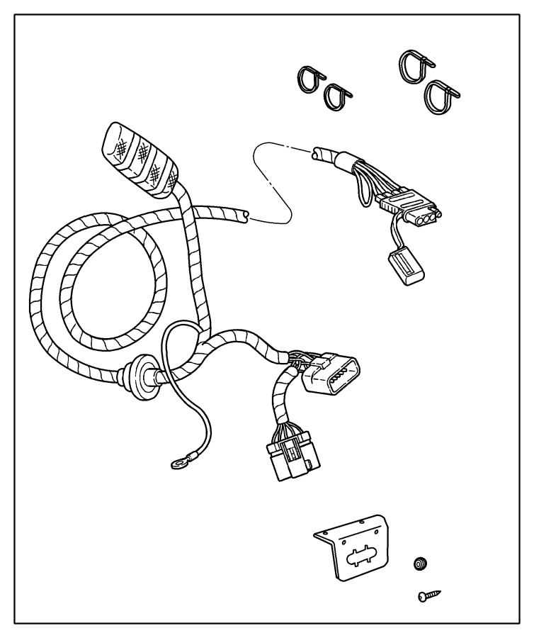 Diagram Jeep Cj2a