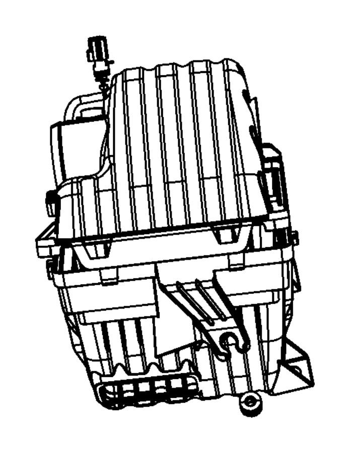 2013 Dodge Challenger Isolator. Air cleaner mounting leg