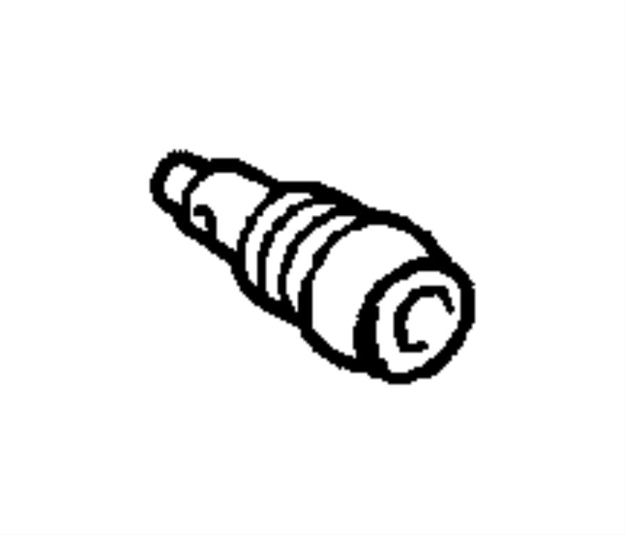 Dodge Sprinter 2500 Plug. Drain. Coolant drain plug in