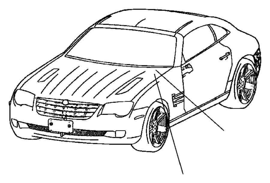 Chrysler Crossfire Module. Transmission control