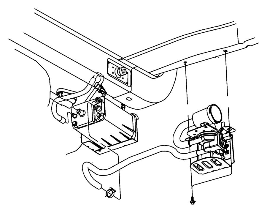 2000 Dodge Neon Canister. Vapor. Northelimited, nam