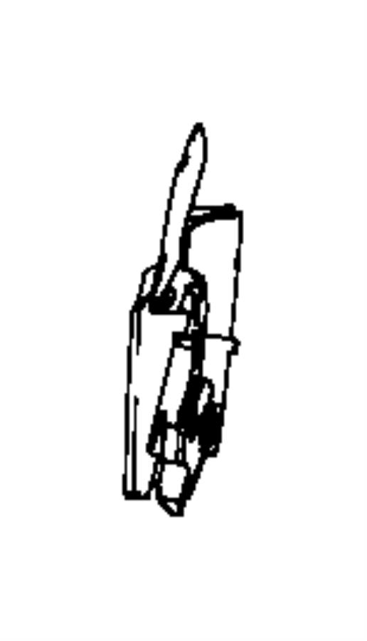 Chrysler PT Cruiser Shield. Driver inboard, seat. Left