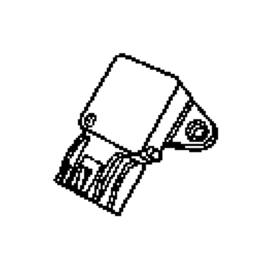 2012 Jeep Patriot Sensor. Map. Intake, manifold
