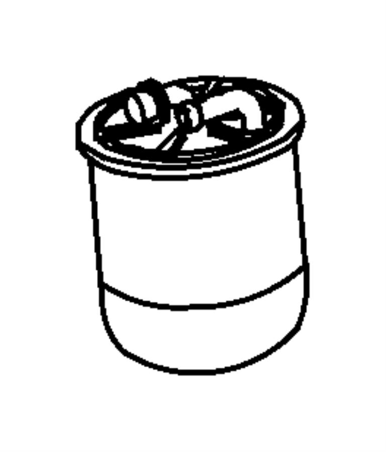 Dodge SPRINTER Filter. Fuel. Lines, diesel, related