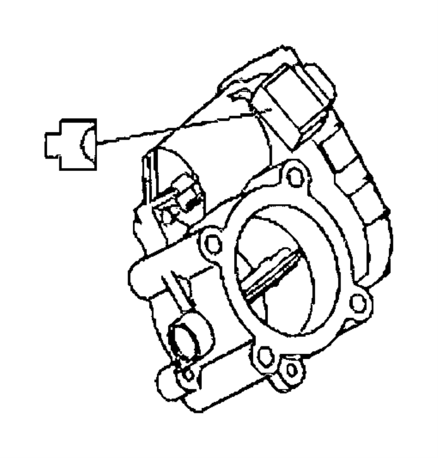 2007 Jeep Grand Cherokee Throttle body. Service manual
