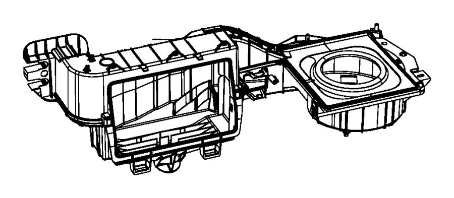 2009 Dodge Grand Caravan Filter. Cabin air. Temp, zone