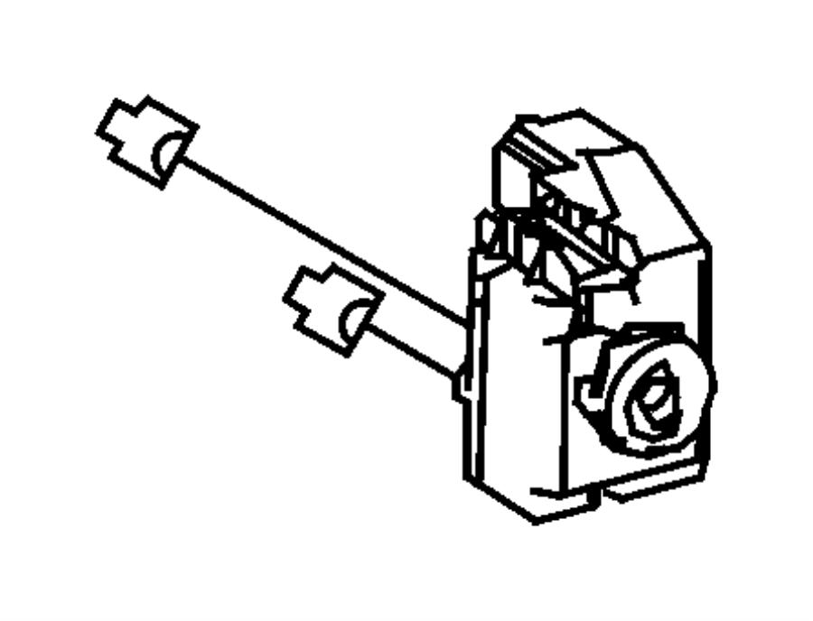 Dodge SPRINTER Cylinder. Ignition lock. [skreem] module