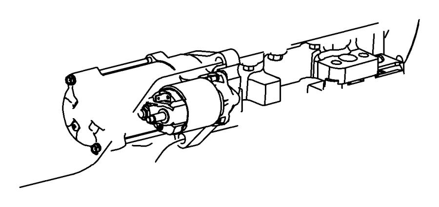 2011 Dodge Challenger Starter. Engine. Dbb, maintenance