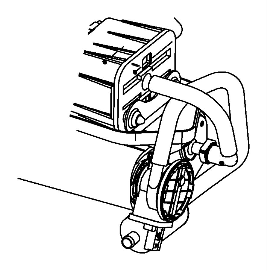 2011 Dodge Grand Caravan Filter. Leak detection pump