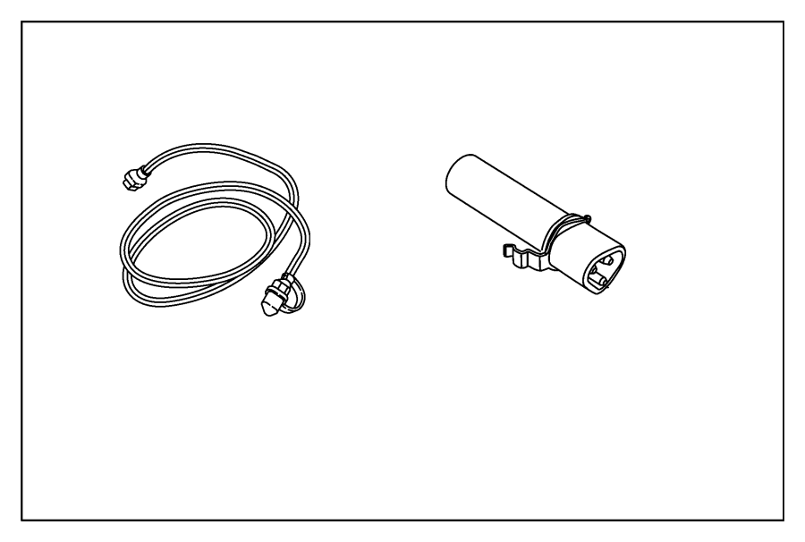 Chrysler Sebring Cord. Engine block heater. [2.4l i4 pzev