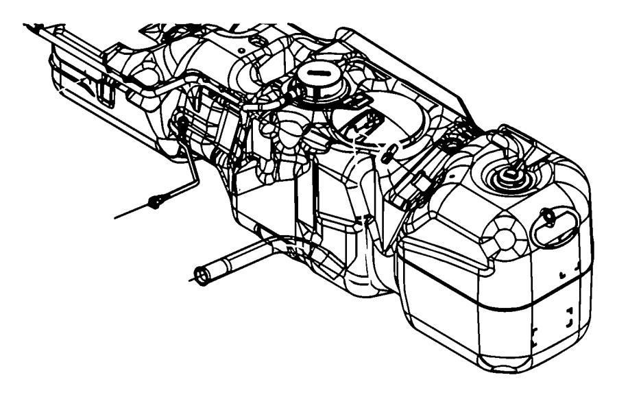2008 Dodge Ram 2500 Tube. Fuel vapor recirculation. [34