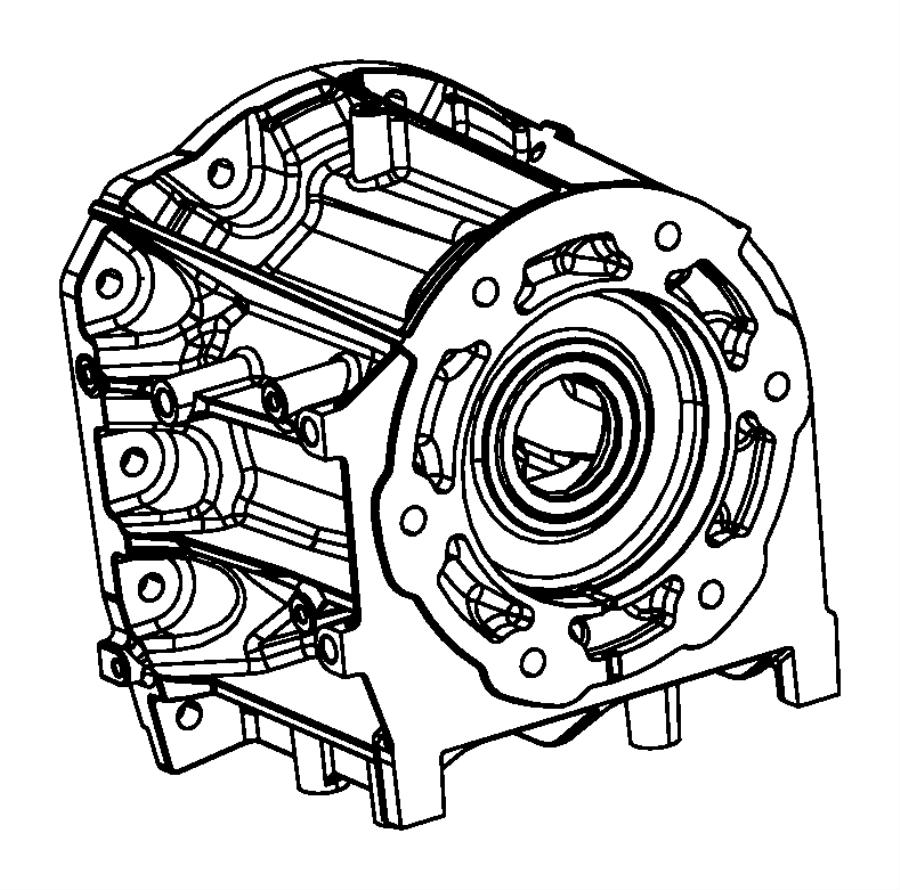 2007 Dodge NITRO Adapter. Transfer case. Transmission