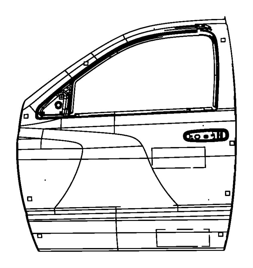 Dodge Ram 1500 Label. Tire pressure. U.s. Label