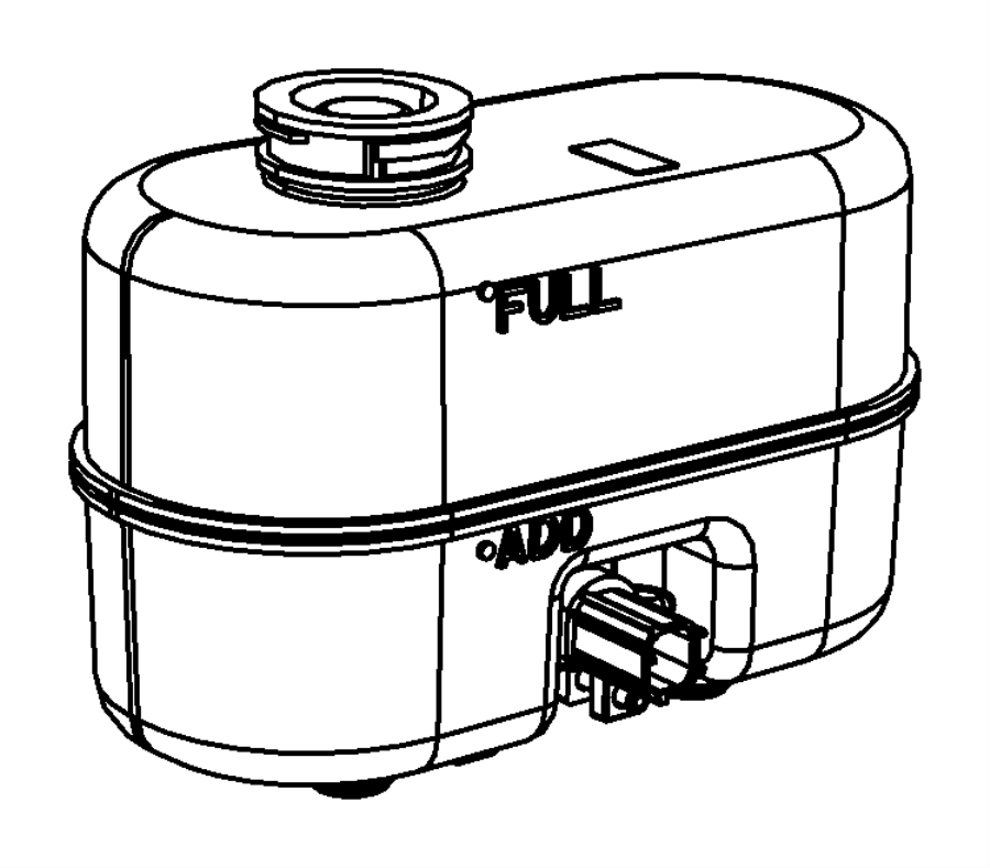 2004 Dodge Ram 3500 Reservoir. Brake master cylinder