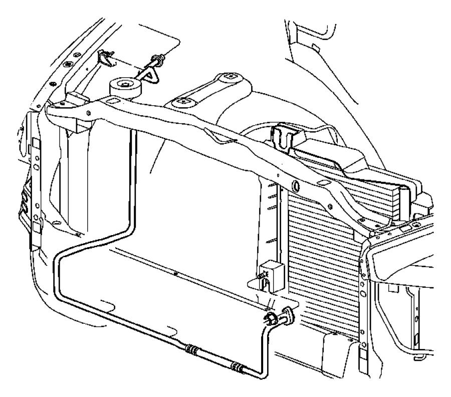 2009 Dodge Ram 1500 Condenser. A/c, air conditioning