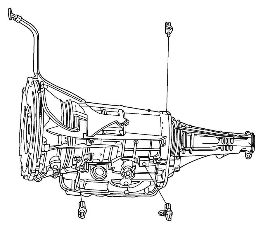2009 Dodge Ram 3500 Sensor. Transmission output speed