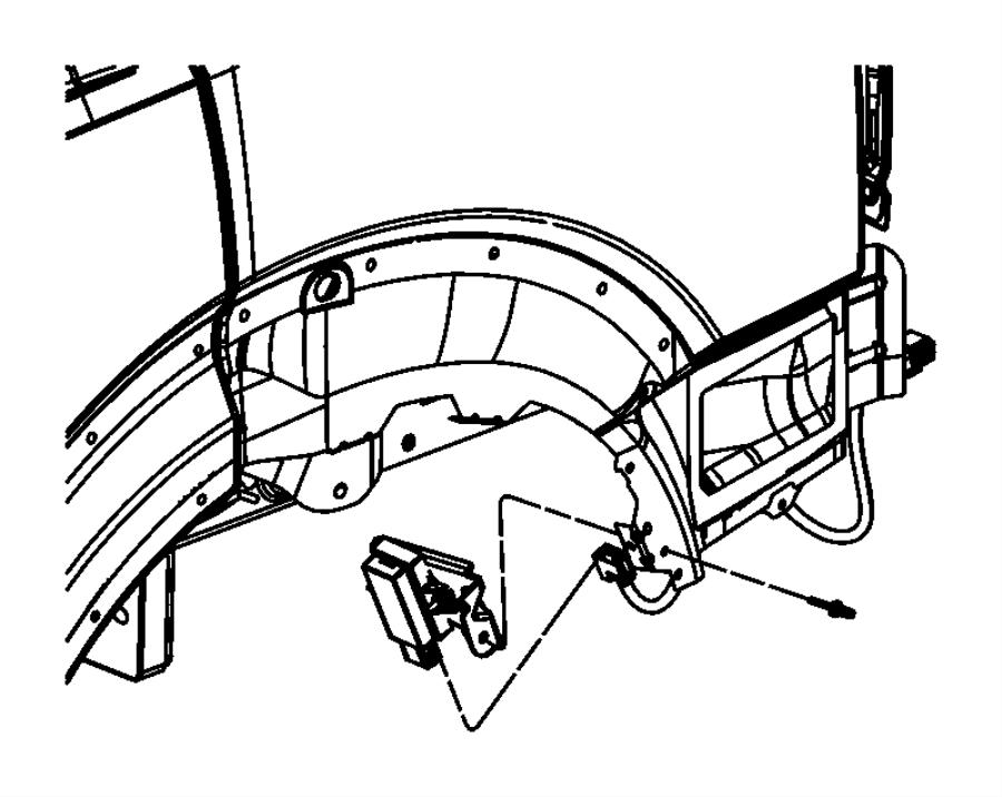 2011 Dodge NITRO Module, trigger. Tire pressure, tire