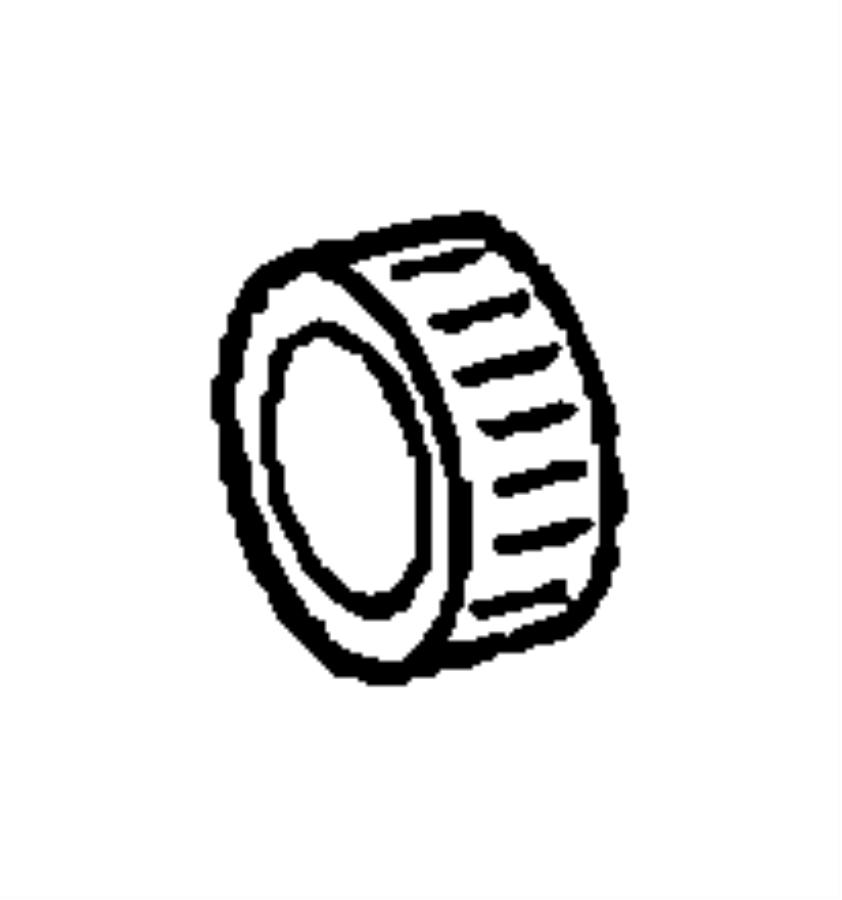 Dodge NITRO Bearing. Intermediate gear. Case, related