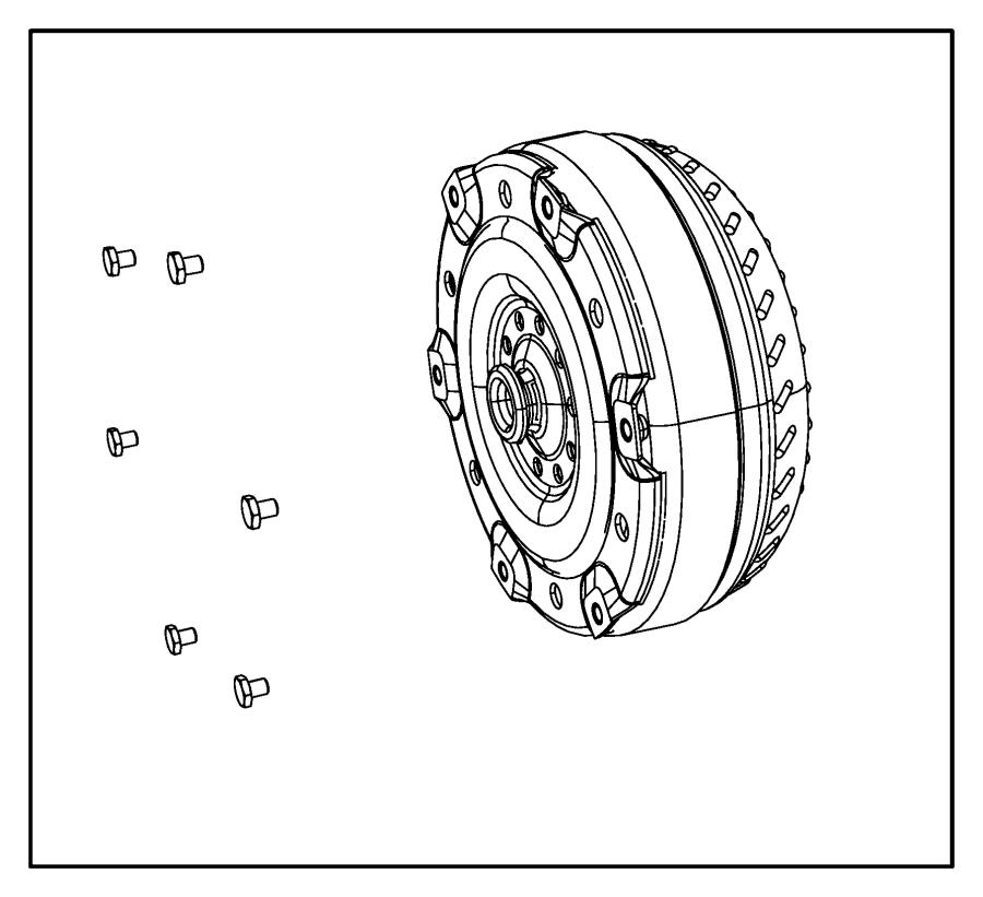 Dodge Ram 2500 Bolt. Automatic transmission, mounting