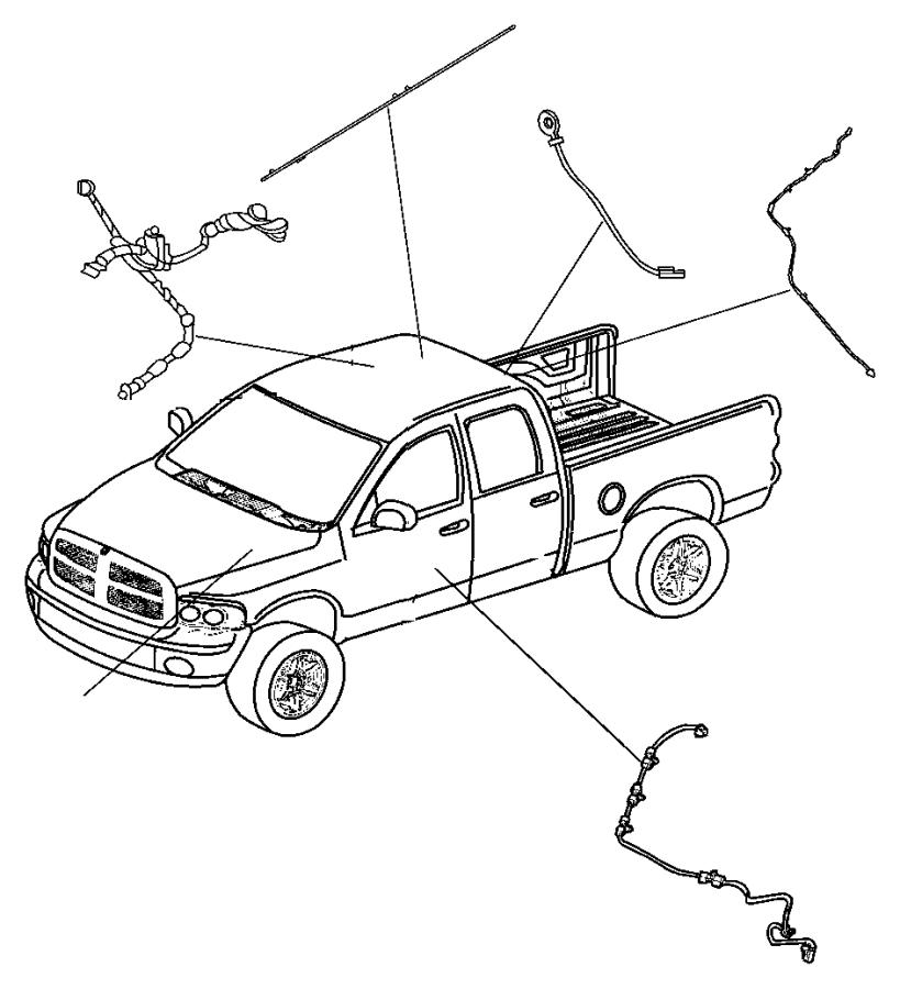 Dodge Ram 1500 Wiring. Electric back light. Window