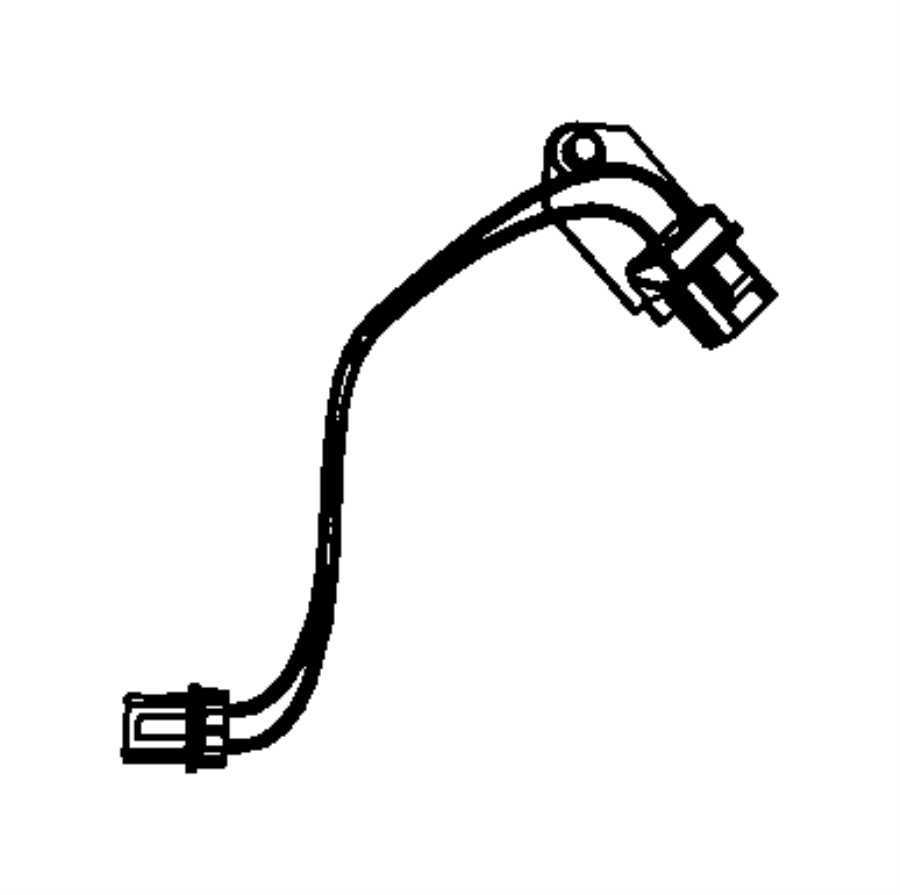 2009 Jeep Wrangler Wiring. Fan motor. Contains resistor