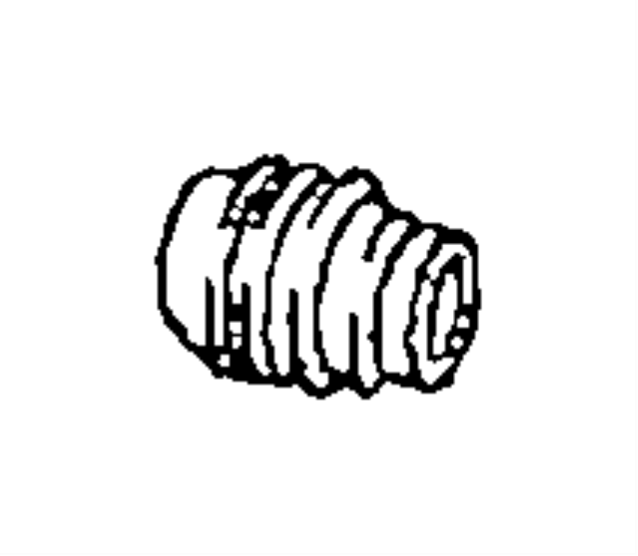 2007 Chrysler Pacifica Boot. Disc brake caliper pin. Right