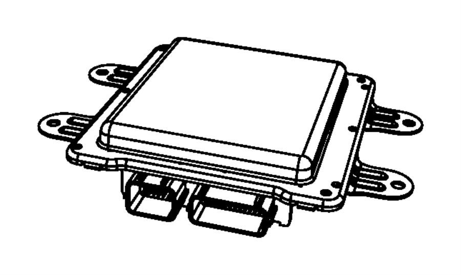Dodge Durango Module. Front control. [elec shift-on-the