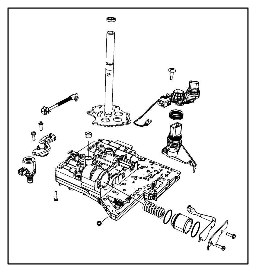 2016 Dodge Journey Seal. Manual valve position sensor