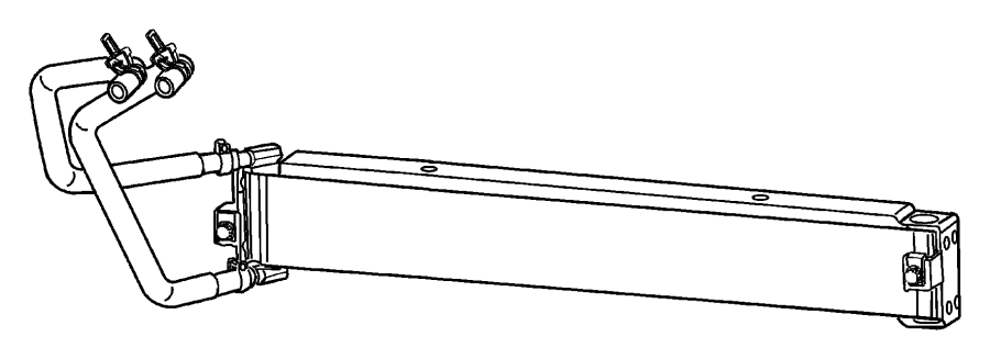 Chrysler PT Cruiser Hose. Transmission oil inlet. [rear