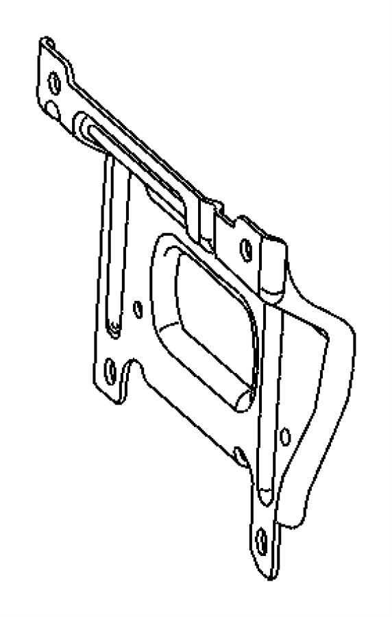 2007 Chrysler PT Cruiser Bracket. Intake manifold