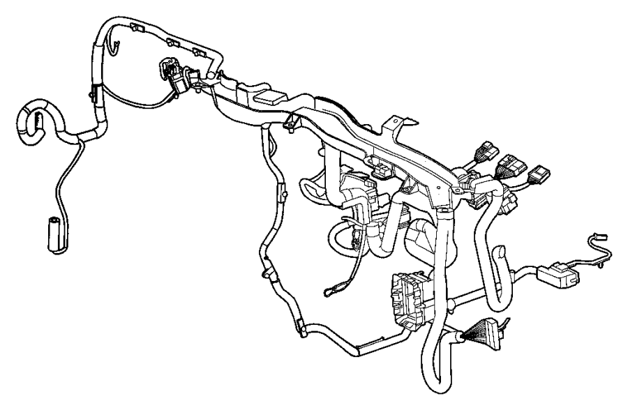 2008 Jeep Patriot Wiring. Instrument panel. [[advanced